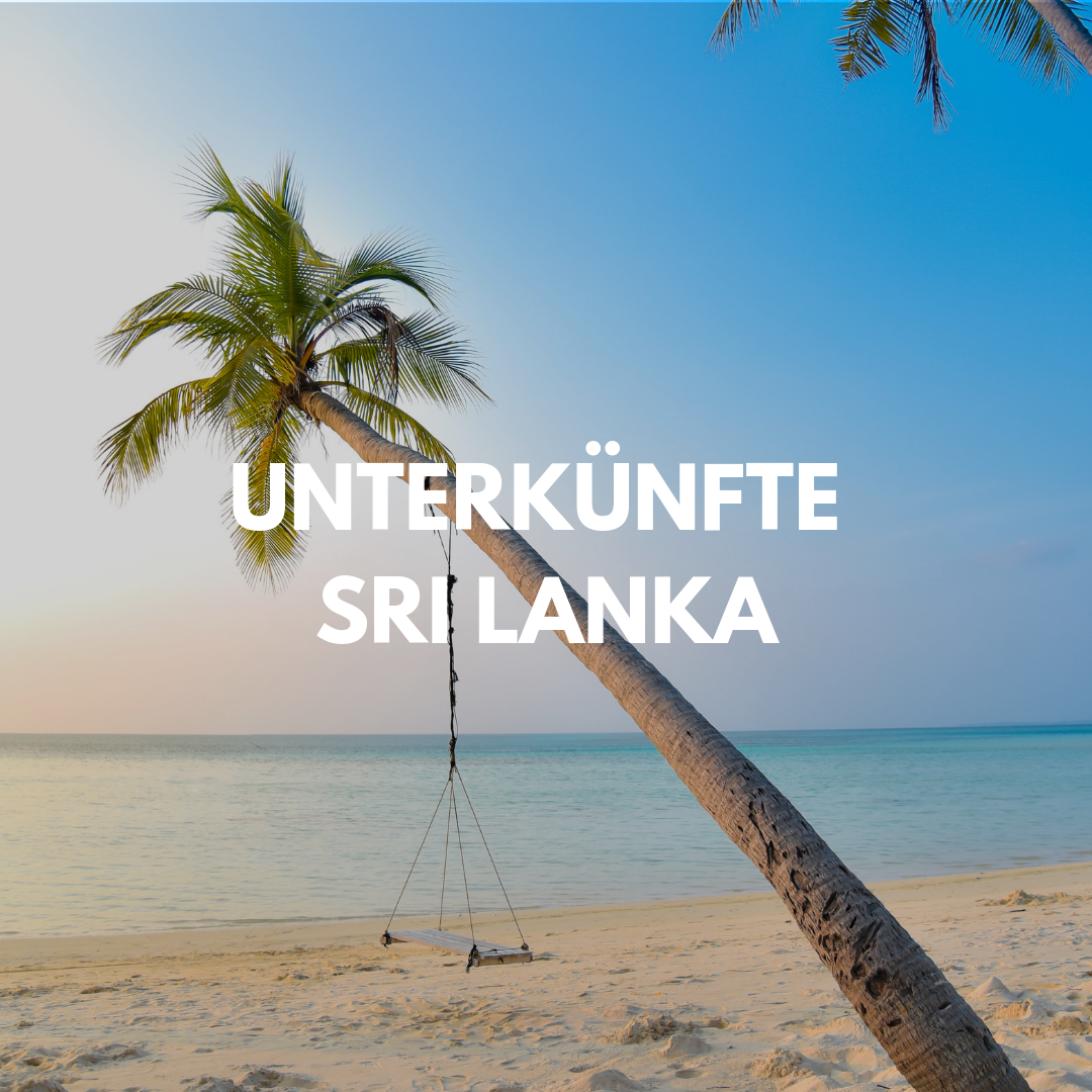 Die besten unterkünfte in Sri lanka