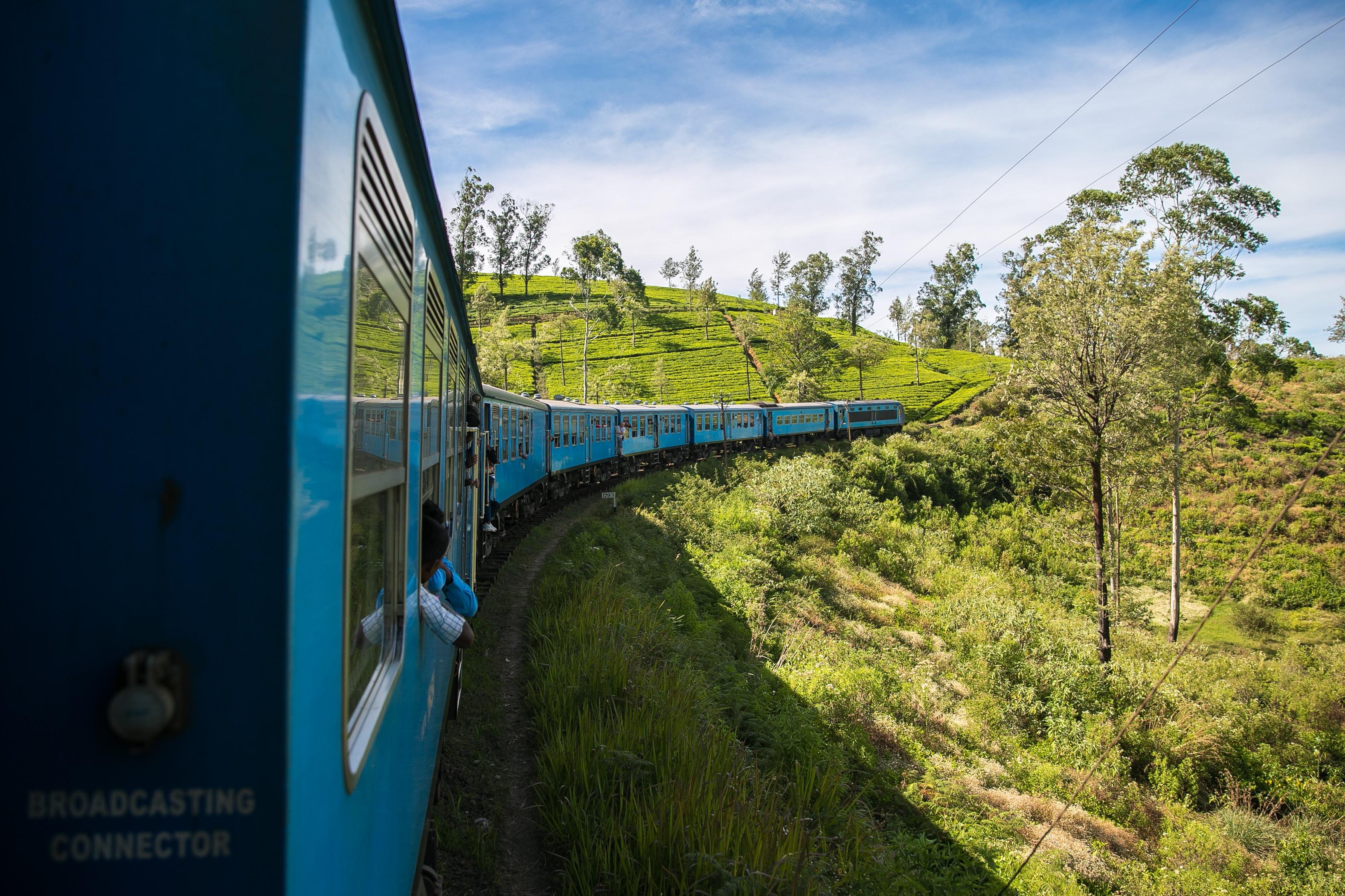 3. Atemberaubende Zugfahrt