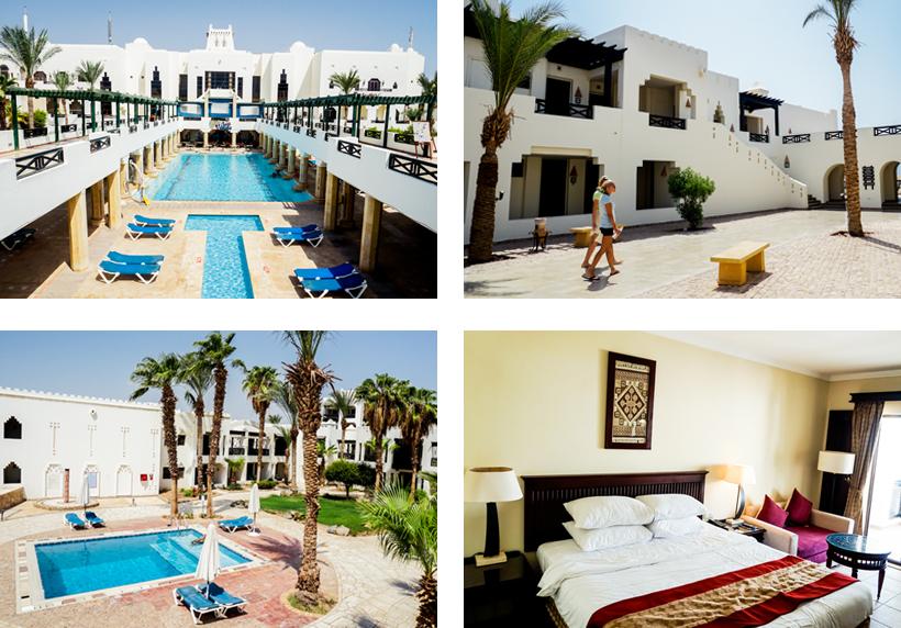 Poolanlagen & Unterkünfte des Sharm Plaza