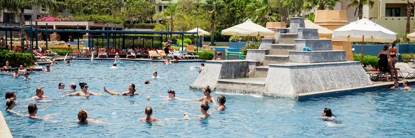 In Port Ghalib gibt es einige Tolle Sportangebote im Pool