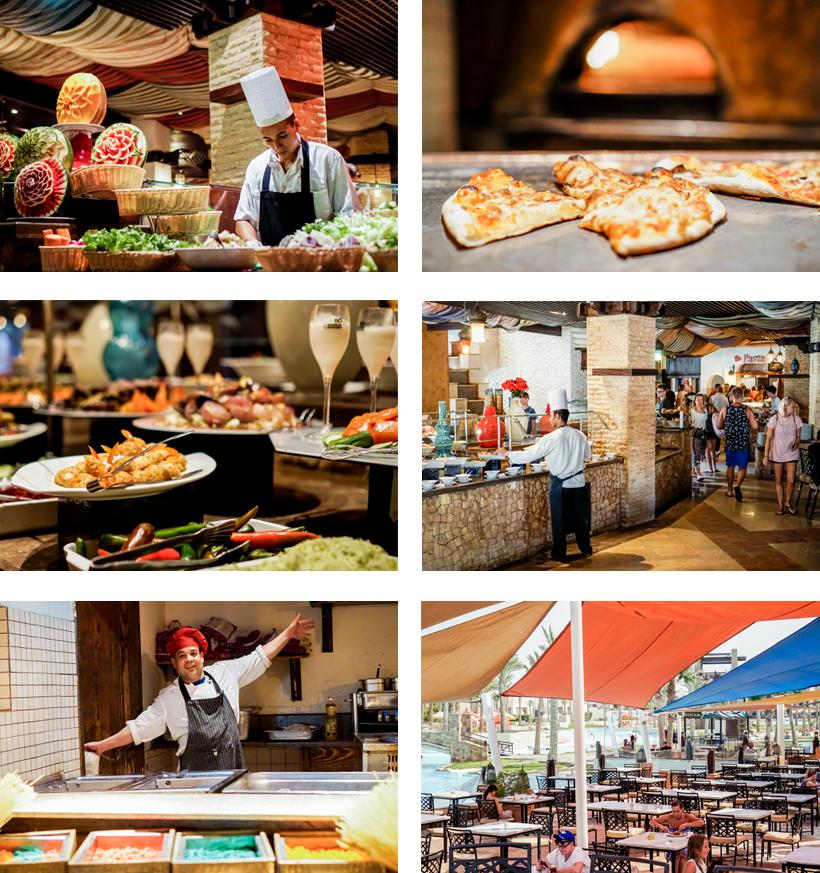 Die Red Sea Hotels in Port Ghalib haben kulinarisch einiges zu bieten