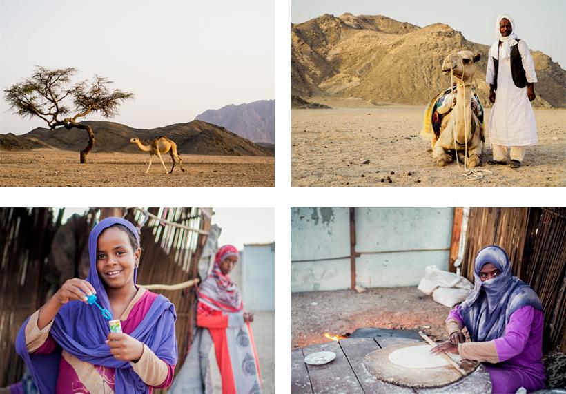 Einblicke in das Leben der arabischen Wüstenbewohner