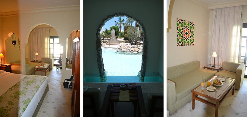 Pool-Suite im Ghazala Gardens - direkter am Pool geht nicht