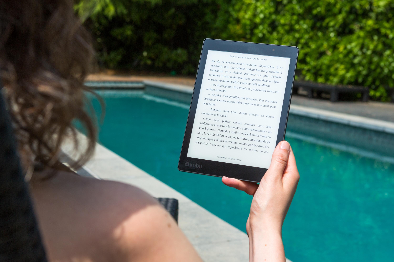 Platz 4:  Kobo Aura One - Der beste E-Reader fürs Auge