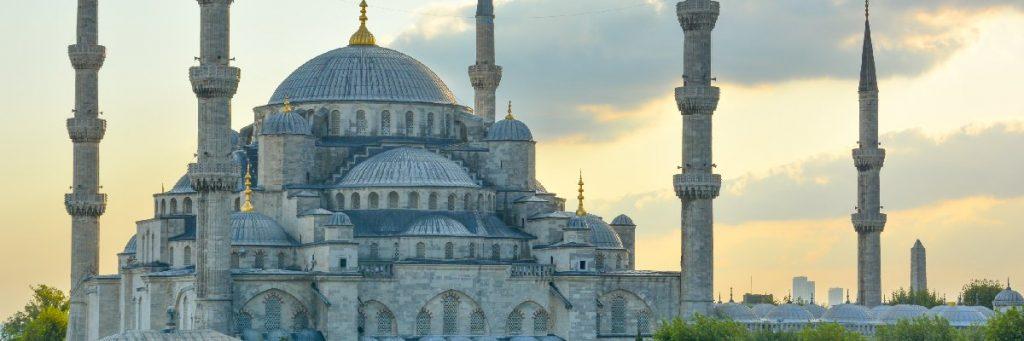 Die blaue Moschee (Blue Mosque) in Istanbul