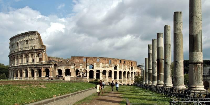 Angebot #5: Flug nach Rom