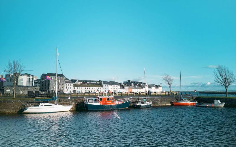 Eine der Kulturhaupstädte 2020 ist Galway